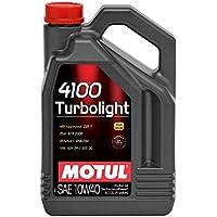 olio motore MOTUL 4100 TURBOLIGHT 10W40 5 litri
