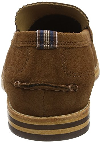 Hudson London Herren Romney Slipper Braun (Cognac)