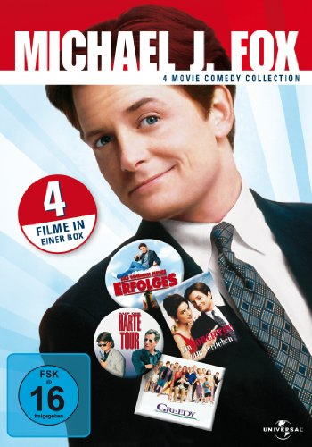 Michael J. Fox - 4 Movie Comedy Collection [4 DVDs] hier kaufen