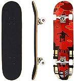 Hikole Skateboard Completo, Pro 31 Pulgadas Monopatín para...