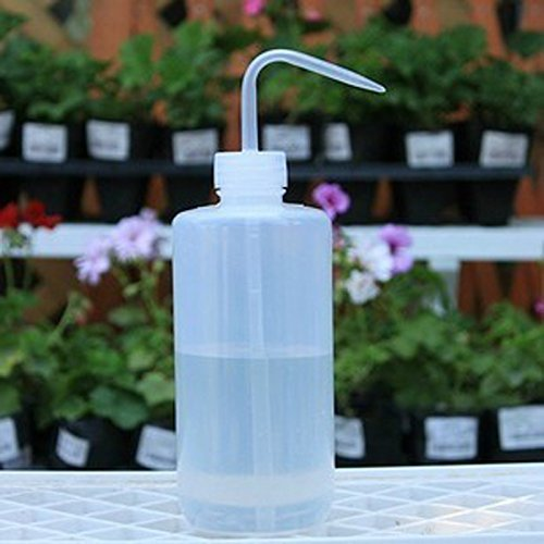 Lumanuby 500ML Capacité Tattoo Wash Effacer Plastique Blanc Savon Vert Flacon Souple pour Accessoires/détergent/Gel Douche