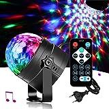 LED Discokugel Party lights DiscoLicht Mit Remote- Steuerung Bühnenbeleuchtung-7 Farbe RGB Led Effekt Lampe