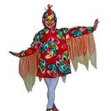 Krause & Sohn Niños Disfraz Bunter Loro Polly (Talla 104–116pájaro Animales para Carnaval
