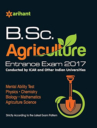 B.Sc. Agriculture Entrance Exam 2017