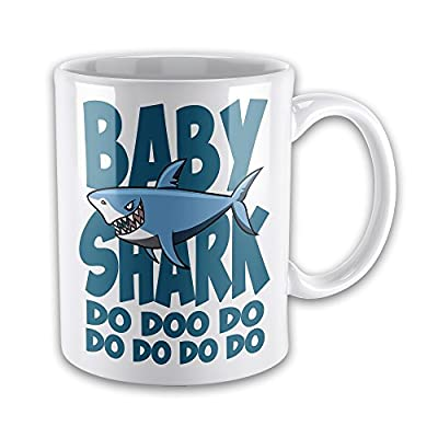 Baby (Blue) Shark Do Doo Do Funny Novelty Gift Mug