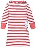 Schiesser Mädchen Nachthemd Maritim 1/1, Rot (Koralle 517), 104