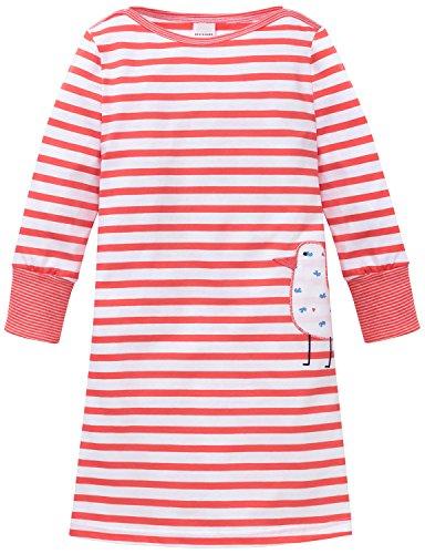 Schiesser Maritim Nachthemd 1/1, Camicie da Notte Bambina, Rosso (Corallo 517), 8 anni