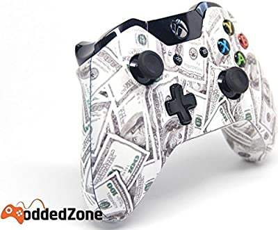 """Money"" Xbox One Custom UN-MODDED Controller Exclusive Design"