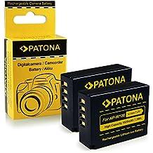 2x Batería NP-W126 para FujiFilm FinePix X-Pro 1 | HS30 EXR | HS30EXR | HS-30EXR | HS33 EXR | HS33EXR | HS-33EXR | HS50EXR | X-E1 | X-M1