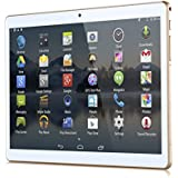 "10 Zoll (9.6"") Tablet PC 3G (Dual-SIM) 48GB IPS HD 1280x800 Quad Core Android 5.1 WIFI WLAN USB SD (Weiß)"