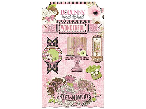 Bo Bunny bbu20409687 Sweet Moments Layered Spanplatten -
