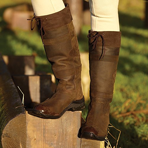 Toggi Canyon Country / Riding Boots Chocolate - Wide Fit Marrone - cioccolato