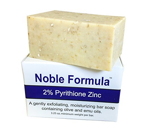 Noble Formula 2% Pyrithione Zinc (ZnP) Bar Soap 3.25 oz
