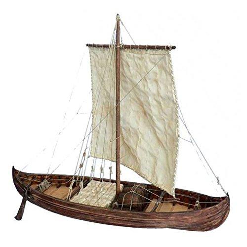 Krick Modelltechnik knarr Barco Vikingo 1: 35Diseño Buzón
