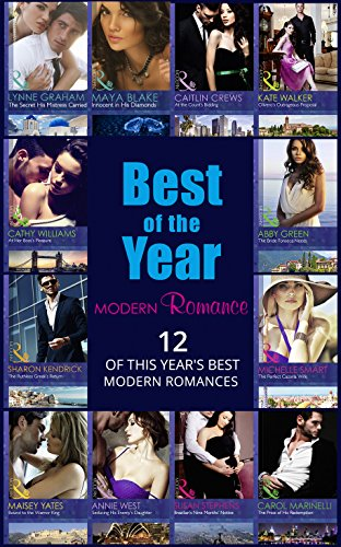 book cover of The Best Of The Year - Modern Romance