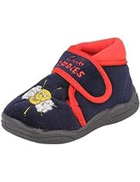 Clarks Longhaul - Zapatillas de estar por casa de Piel para niña talla única, color, talla 4 UK