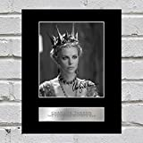 CHARLIZE THERON montiert Foto Display The Huntsman: Winter 's War