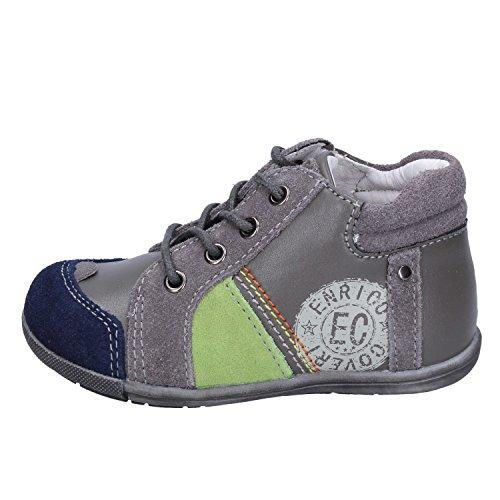 Enrico Coveri Sneakers Baby Jungen Wildleder grau 18 EU