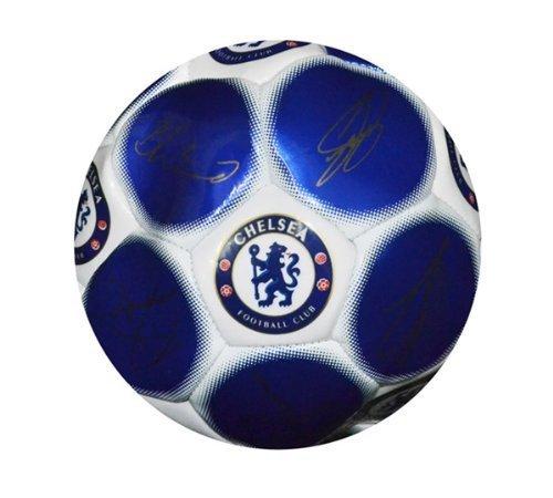 Balón de fútbol firmado, diseño de equipos de fútbol Chelsea FC Talla:5