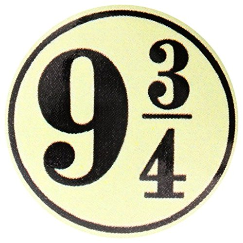 Harry Potter 9 3/4 Badge