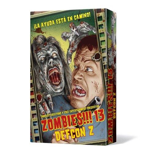 Zombies 13 DEFCON Z - Juego de mesa (Edge Entertainment EDGTC13)