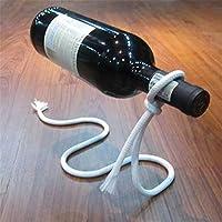 ZSY Home Creative Magic Chain Wine Holder Floating Bottle Rack Decoración del Hogar - Adornos De