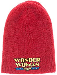 DC KC36B5DCO Comics Wonder Woman Reversible Beanie