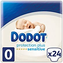 Dodot Protection Plus Sensitive Pañales Talla 0 (1.5 - 2.5 kg) - 2 x