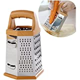 SHAFIRE™ 6-Sided Stainless Steel Universal Kitchen Grater and Slicer