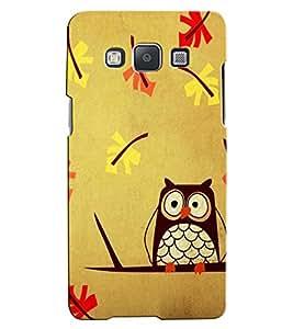 Citydreamz Owl Hard Polycarbonate Designer Back Case Cover For Samsung Galaxy Grand Max G7202