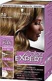 Schwarzkopf Color Expert Intensiv-Pflege Color-Creme, 7.0 Dunkelblond Stufe 3, 3er Pack (3 x 167 ml)