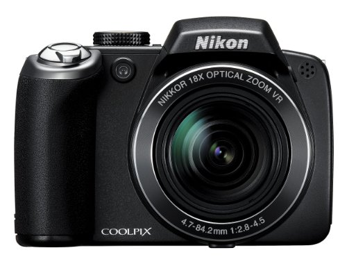 Nikon Coolpix P80 Digitalkamera (10 Megapixel, 18-Fach Opt. Zoom, 6,9 cm (2,7 Zoll) Display, Bildstabilisator) 10 Mp, 2.7 Lcd