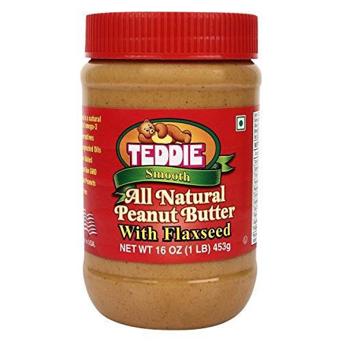 My go-to breakfast butter. Contains flaxseed (source of omega-3) Don't purchase any peanut butter which contains Hydrogenated oil or any other oil. There should be only 1 ingredient and that is Peanuts. Peanuts are one of the best source of protein for vegetarians.