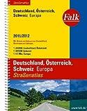 Falk Straßenatlas Deutschland, Österreich, Schweiz, Europa 2011/2012