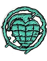 Thunder Skateboard Trucks Sonora toxine Grenade Sticker–Vert