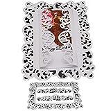 Lazzboy Fustelle Natale Scrapbooking Metallo Stencil Paper Card Craft per Sizzix Big Shot/Altre Macchine(I, Lace Frame-2)