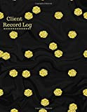 Client Record Log: Customer Appointment Management System Log Book, Client Information Keeper, Record Keeping & Organization, For Businesses. 8.5