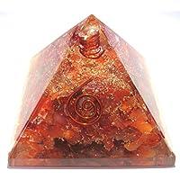 Orignit-Pyramide mit orangefarbenem Aventurin-Organit-Kristall, Heilung, Reiki, Feng-Shui, Geschenk, Positive... preisvergleich bei billige-tabletten.eu
