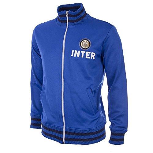 Copa Inter Mailand Trainingsjacke Retro 1960er blau, S