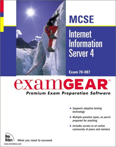 Bundle: Internet Information Server 4 MCSE ExamGear (New Riders Exam Gear) por Dale Holmes