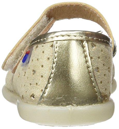 Conguitos  HVS10231, Chaussures souples pour bébé (fille) Doré