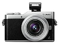 Panasonic DC-GX800KEBS Lumix G Compact System Camera - Silver (12-32 mm Lens, 4K Video and Photo)