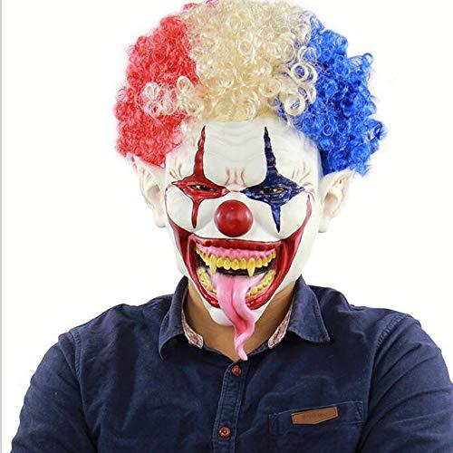 n Maske Mit Rotem Haar Für Erwachsene Für Halloween-Party 5 Stil Halloweenkostüm Party Requisiten Masken Dekorationen,Picture2 ()