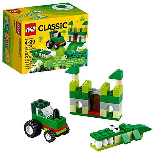 Lego Classic Kreativ-Box Grün 10708 (66 Teile)