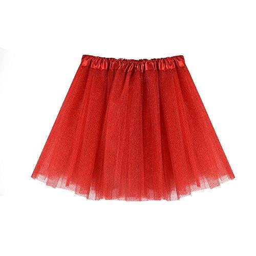 Hirolan Tüllrock Ballettrock Tutu Petticoat Vintage Partykleid Unterkleid -