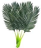 Warmter Künstliche Palm Leaf Tropical pflanzenblättern Party Dekorationen Room Decor 22