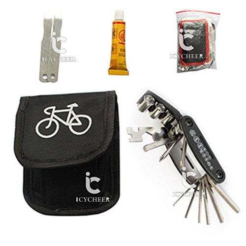 ICYCHEER - Bolsa herramientas reparación bicicletas