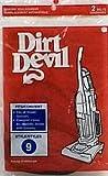 Dirt Devil - Correa para aspiradora estilo 9 PK2 Número de pieza de fabricante: 3990220044