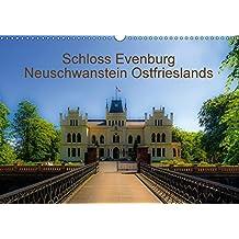 Schloss Evenburg - Neuschwanstein Ostfrieslands (Wandkalender 2017 DIN A3 quer): Ein persönlicher Blick auf Schloss Evenburg. (Monatskalender, 14 Seiten )