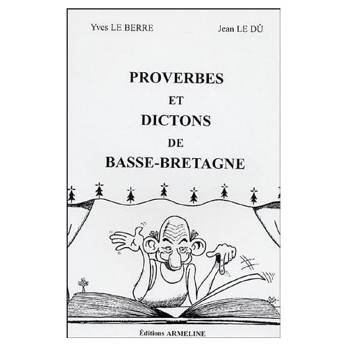 Proverbes et Dictons de Basse-Bretagne